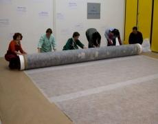 Etude de grand formats roulés du musée de valence