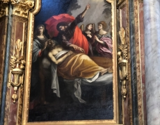 Conflans, suite de la restauration de la mort de st Joseph